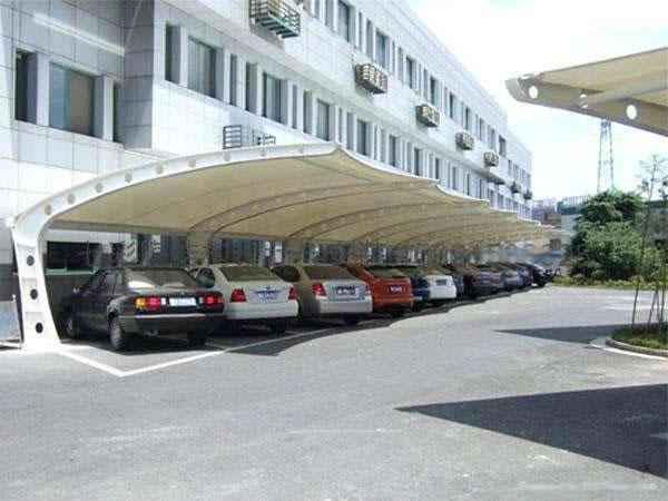 汽车膜结构遮阳棚
